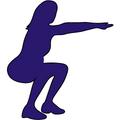 mom doing squats